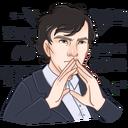 Стикеры Шерлок
