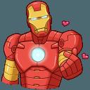 Стикеры Железный Человек