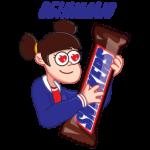 Стикеры snickers