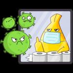 Стикеры коронавирус
