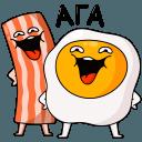 Сткеры Завтрак